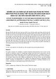 Nghiên cứu cải thiện sụt áp ngắn hạn trong hệ thống điện phân phối sử dụng thiết bị hạn chế dòng ngắn mạch bằng vật liệu siêu dẫn kiểu điện trở (R_SFCL)