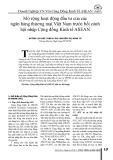 Mở rộng hoạt động đầu tư của các ngân hàng thương mại Việt Nam trước bối cảnh hội nhập Cộng đồng Kinh tế ASEAN
