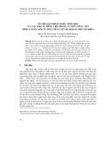 Vấn đề giải thích nghĩa tình thái của các trợ từ tiếng Việt trong từ điển tiếng Việt (trên cơ sở cuốn từ điển tiếng Việt do Hoàng Phê chủ biên)