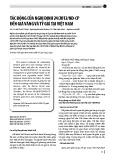 Tác động của nghị định 24/2012/NĐ-CP đến giá vàng và tỷ giá tại Việt Nam