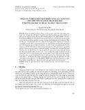 Nội dung và biện pháp phát triển năng lực ngôn ngữ cho sinh viên ngành Sư phạm hóa học ở trường Đại học Sư phạm - Đại học Thái Nguyên