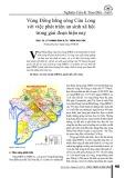 Vùng Đồng bằng sông Cửu Long với việc phát triển an sinh xã hội trong giai đoạn hiện nay