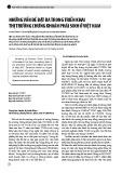 Những vấn đề đặt ra trong triển khai thị trường chứng khoán phái sinh ở Việt Nam