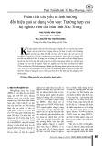 Phân tích các yếu tố ảnh hưởng đến hiệu quả sử dụng vốn vay: Trường hợp của hộ nghèo trên địa bàn tỉnh Sóc Trăng