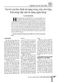 Vai trò của bảo lãnh tín dụng trong việc mở rộng khả năng tiếp cận tín dụng ngân hàng