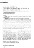 Chẩn đoán và điều trị: Thâm nhiễm gần rìa giác mạc và viêm bờ mi do chủng staphylococcus