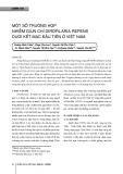 Một số trường hợp nhiễm giun chỉ dirofilaria repens dưới kết mạc đầu tiên ở Việt Nam