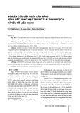 Nghiên cứu đặc điểm lâm sàng bệnh hắc võng mạc trung tâm thanh dịch và yếu tố liên quan