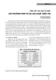 Viêm loét giác mạc do nấm: Các phương pháp và sự lựa chọn điều trị