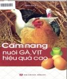 Ebook Cẩm nang nuôi gà, vịt hiệu quả cao: Phần 1