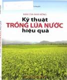 Hướng dẫn kỹ thuật trồng lúa nước hiệu quả: Phần 1