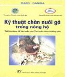 Cẩm nang kỹ thuật chăn nuôi gà trong nông hộ: Phần 2
