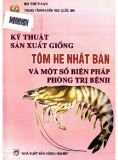 Một số biện pháp phòng trị bệnh trong sản xuất giống tôm he Nhật Bản