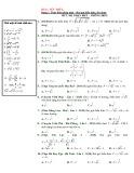 Phân dạng và bài tập trắc nghiệm lũy thừa, mũ và logarit