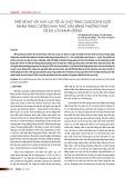 Thiết kế nứt vỉa thủy lực tối ưu cho tầng oligocene dưới nhằm tăng cường khai thác dầu bằng phương pháp tối đa lợi nhuận ròng