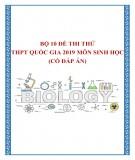 Bộ 10 đề thi thử THPT Quốc gia 2019 môn Sinh học có đáp án