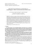 Phân tích đa dạng di truyền của mười giống lạc (Arachis hipogaea. L) trồng tại Thanh Hóa bằng kĩ thuật RAPD