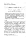 Nghiên cứu lí thuyết khuếch tán của hợp kim xen kẽ AB với cấu trúc lập phương tâm khối
