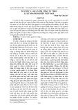 Tổ chức và quản trị công ty theo Luật Doanh nghiệp Việt Nam