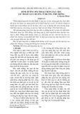 Định hướng đối thoại trong dạy học tác phẩm văn chương ở trường phổ thông