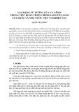 Vận dụng tư tưởng của V.I. Lênin trong việc hoàn thiện chính sách tôn giáo của Đảng và Nhà nước Việt Nam hiện nay