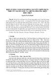 Hiện tượng Tam giáo đồng nguyên thời Trần nhìn từ nguồn gốc và những phương diện biểu hiện