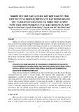 Nghiên cứu chế tạo vật liệu kết hợp nano từ tính oxit sắt từ và Biogum trích ly từ hạt muồng Hoàng Yến và khảo sát khả năng cải thiện chất lượng nước thải công nghiệp của vật liệu Biogum cải tiến