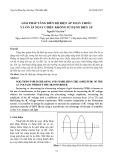Giải pháp tăng biên độ điện áp xoay chiều và ổn áp xoay chiều không sử dụng biến áp