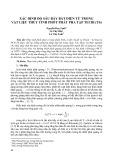 Xác định độ sâu bẫy bắt điện tử trong vật liệu thủy tinh phốt phát pha tạp tecbi (Tb)