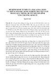 Mô hình kinh tế mới của Malaysia (NEM) và những bài học kinh nghiệm cho Việt Nam trong quá trình chuyển đổi mô hình tăng trưởng kinh tế