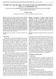 Nghiên cứu địa hoá học của nước ngầm tại thành phố Đà Nẵng, Đà Lạt và tỉnh Đồng Nai
