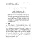 Dạy và học địa lí 12 với bản đồ khái niệm trong môi trường sư phạm tương tác