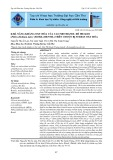 Khả năng kháng oxy hóa của cao methanol rễ me keo (Pithecellobium dulce (Roxb.) Benth) trên chuột bị stress oxy hóa