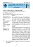Nghiên cứu khả năng sử dụng sinh khối artemia ương cá tai tượng (osphronemus goramy) giai đoạn giống