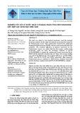 Nghiên cứu xử lý nước thải y tế bằng phản ứng fenton/ozone kết hợp lọc sinh học hiếu khí