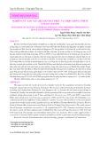 Nghiên cứu tạo vật liệu ban đầu phục vụ chọn giống tôm sú (Penaeus monodon)