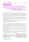 Thành phần dinh dưỡng của giun nhiều tơ (Perinereis sp.) nuôi thương phẩm và tự nhiên: Ứng dụng cho nuôi tôm bố mẹ