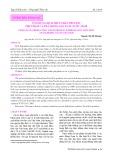 Ứng dụng dịch thủy phân protein phụ phẩm cá tra trong sản xuất nước mắm