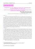 Ảnh hưởng của CMC, nhiệt độ và nồng độ agar đến độ nhớt của dung dịch, độ cứng gel agar