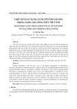 Thiết kế và sử dụng lý thuyết tình huống trong giảng dạy công thức truy hồi