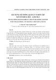 Xây dựng hệ thống quản lý và biên tập tạp chí khoa học - giáo dục