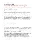 Giá trị dinh dưỡng của sâm đất siphonosoma australe australe (keferstein, 1865) and sipunculus nudus linnaeus,1766 (sipunculus: phascolosomatidae) ở vùng rừng ngập mặn sông Gianh, tỉnh Quảng Bình