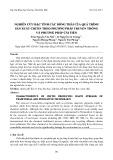 Nghiên cứu đặc tính các dòng thải của quá trình sản xuất chitin theo phương pháp truyền thống và phương pháp cải tiến