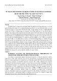 Sử dụng diatomite cố định vi khuẩn Bacillus subtilis HU58 cho bê tông tự liền vết nứt