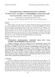 Tổng hợp màng composite phân hủy sinh học từ polyvinyl alcohol và microfibrillated cellulose