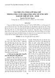 Vai trò của tầng lớp địa chủ trong cuộc khai phá, bảo vệ vùng đất Nam Bộ thế kỷ XVII-XVIII
