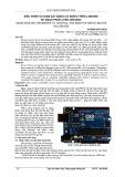 Điều khiển và giám sát động cơ servo trên LabVIEW sử dụng phần cứng arduino