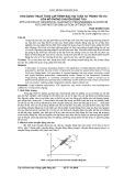 Ứng dụng thuật toán lập trình bậc hai tuần tự trong tối ưu hóa mô phỏng chuyển động tàu
