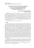 Xác định, xếp loại và khảo sát sự biểu hiện của các gen mã hóa dehydrin (DHN) ở cây đậu tương (Glycine max (L.) Merr.) bằng phân tích in silico