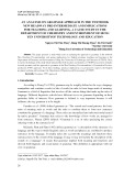 An analysis on grammar approach in the textbook New Headway Pre-intermediate and implications for teaching and learning a cacse study in the department of chemistry and environment of Hung Yen Universityof technology and education